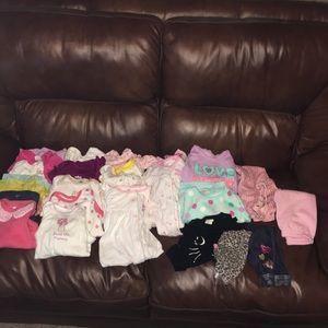 Other - Huge 25 Pc Baby Girl Lot Bundle Clothing